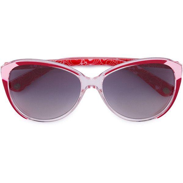 b0b00ebc12b9 Vogue Eyewear oval sunglasses ( 153) ❤ liked on Polyvore featuring  accessories
