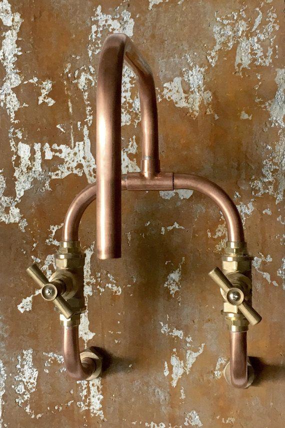 Pour Des Reductions Et Des Campagnes S Il Vous Plait Visitez Www Switchrange Com Ce Mitigeur Mural Fait A La Main Es In 2020 Copper Taps Copper Faucet Copper Bathroom