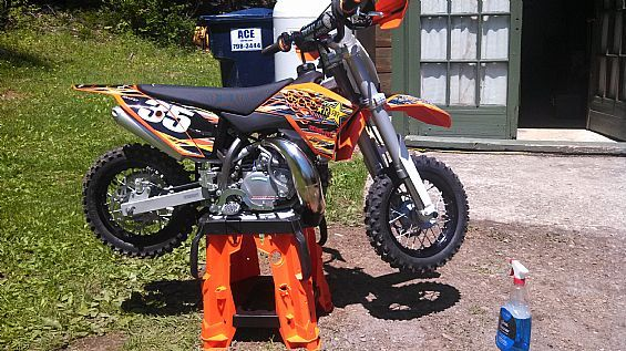 2014 KTM 50 SX Mini Motorcycles Off Road Dirt Bikes For Sale