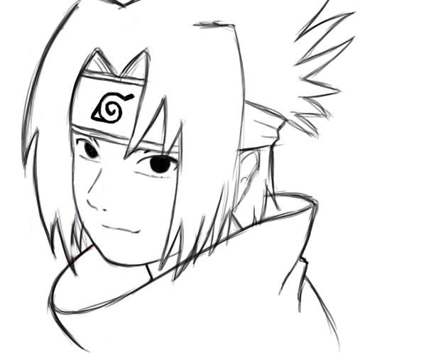 sasuke uchiha coloring pages coloring Pages Pinterest Sasuke