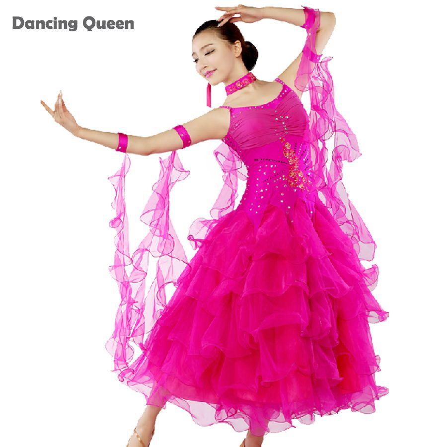 2015 New Arrival Women Dresses For Ballroom Dancing Latin Lady ...