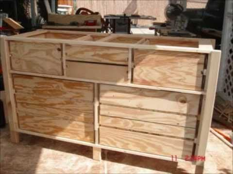 New Tall Dresser Dressers And Free Woodworking Plans On Pinterest