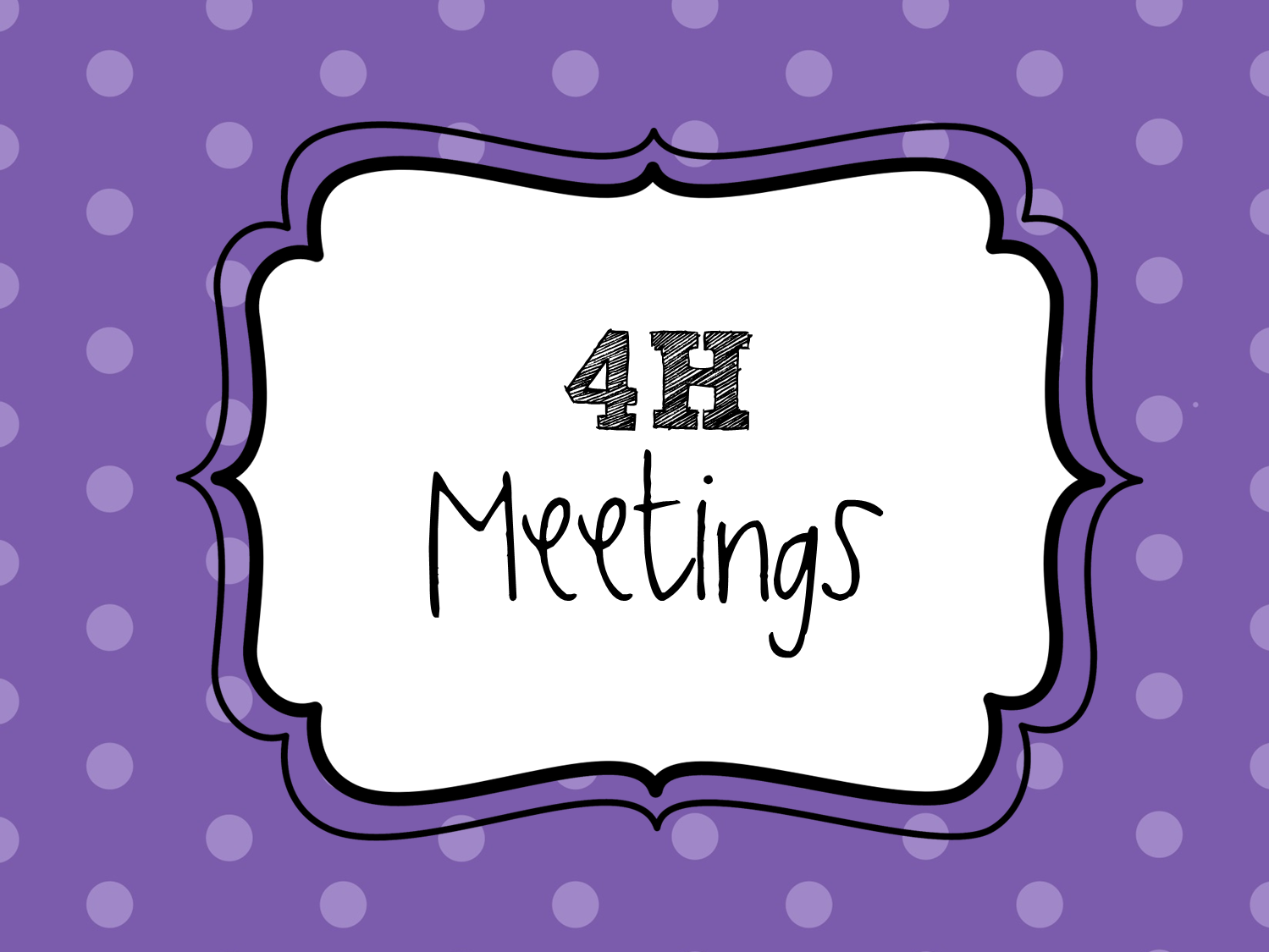 Great 4h Quotes And Infographics Meeting Activity Ideas