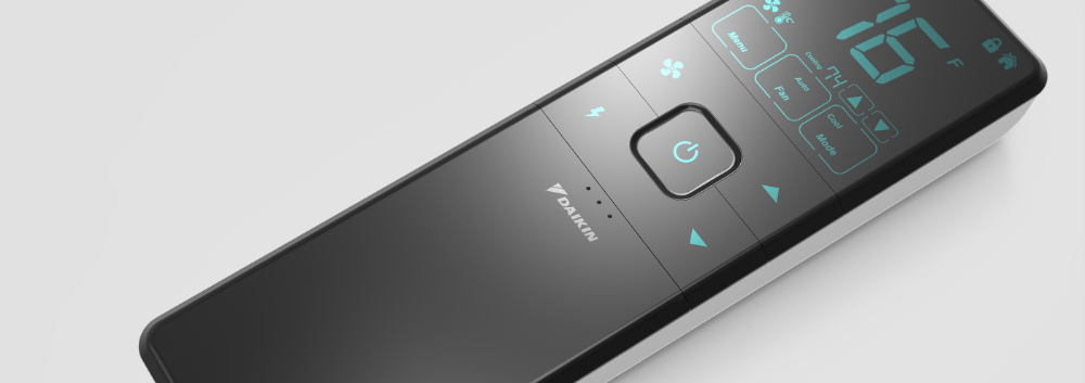 Air Conditioning Remote Control for Daikin (2016) on Behance