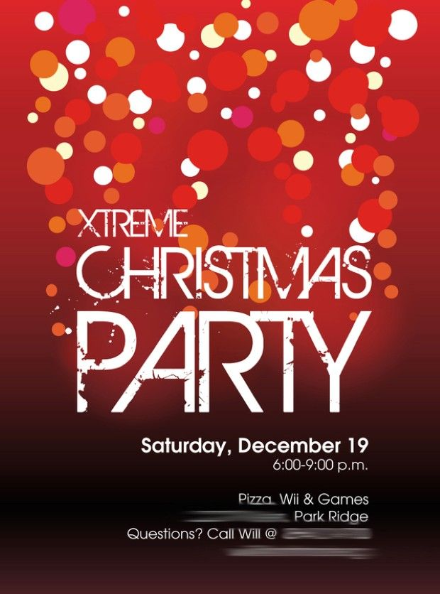 image-of-office-christmas-party-invitations.jpg (620×836) | Work ...