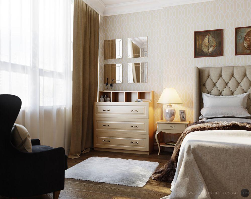 Дизайн квартиры в Москве. 52 м2 — TERO
