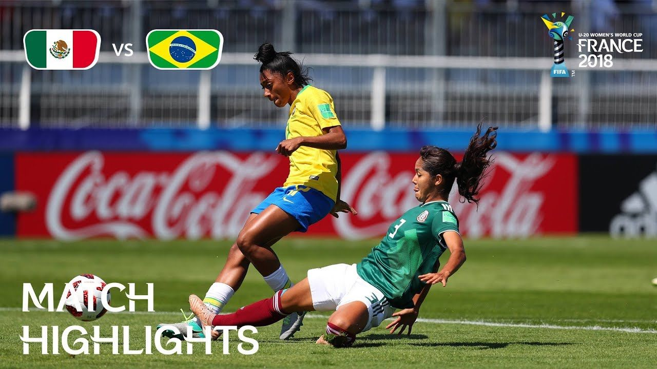 Mexico V Brazil Fifa U 20 Womens World Cup France 2018 Match 04