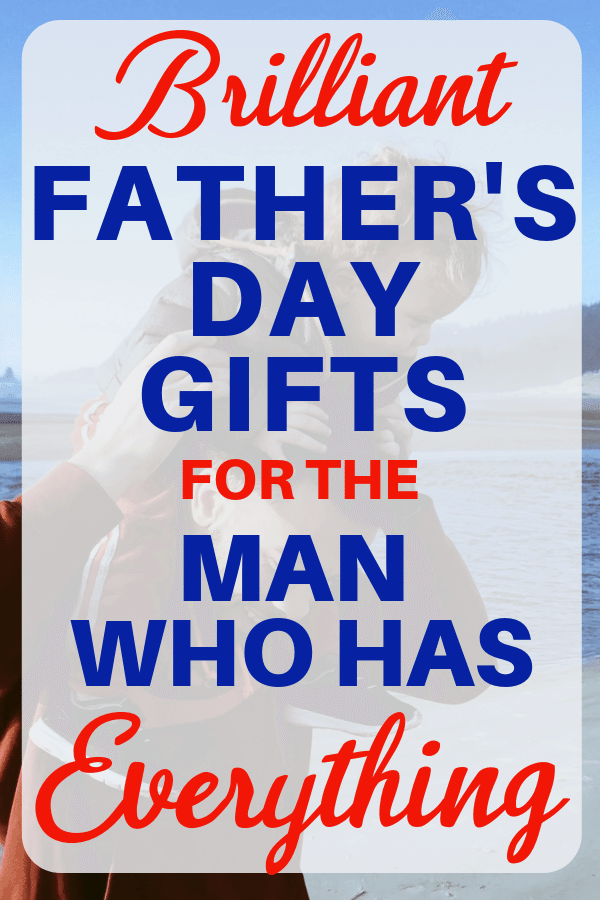 Unique Christmas Gifts For Dad 2020 Christmas Gift Ideas for Husband Who Has EVERYTHING! [2020