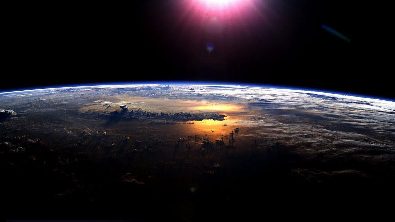 Earth Views From The Space Station 4k Video Ultra Hd Wallpaper Earth Earth From Space Earth View