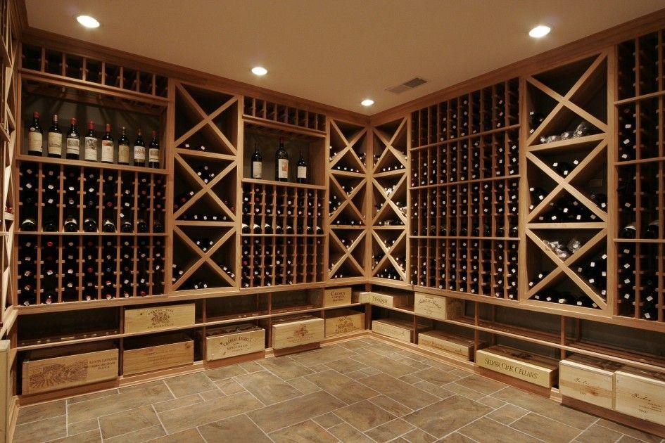 Marvelous Decoration: L Shapes Ideas Of Wine Cellar Shelves Design: Various Design Of  Wine Cellar Ideas