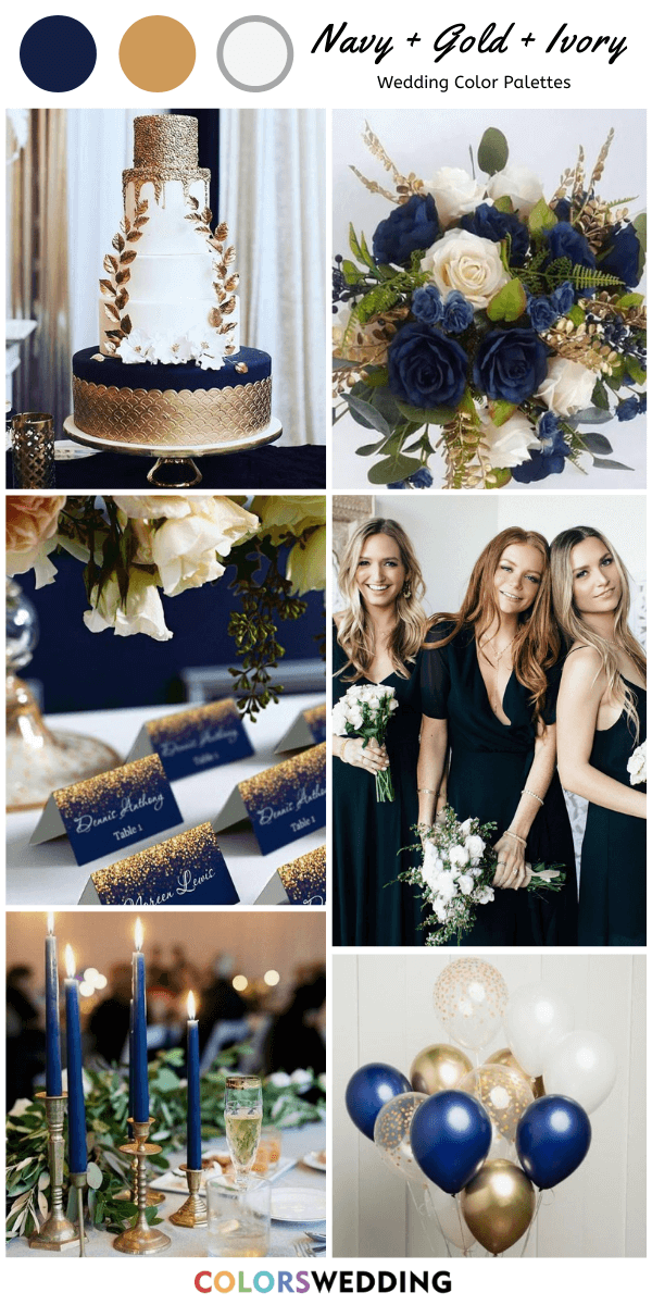 6 Classic Blush Wedding Color Combos That Are All Time In Style Elegantweddinginvites Com Blog In 2020 Blush Wedding Colors Blue And Blush Wedding Navy Wedding Colors