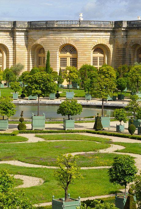 Chateau De Versailles Jardin De L Orangerie Eu Fr V
