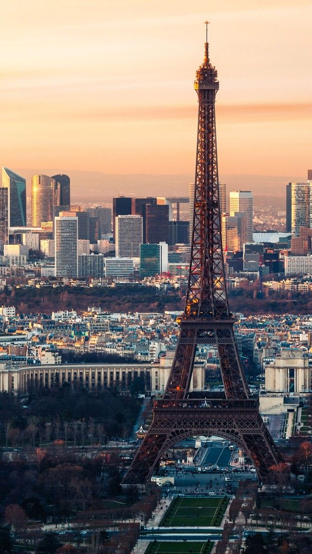 City Of Paris France iPhone 5 wallpapers, backgrounds, 640