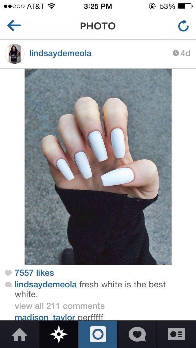 square white nails