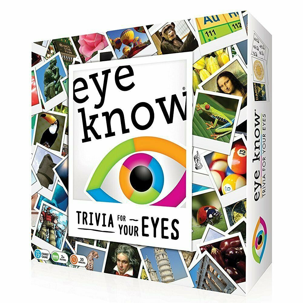 NEW EDITION Eye Know Visual Memory and Facts Trivia Game