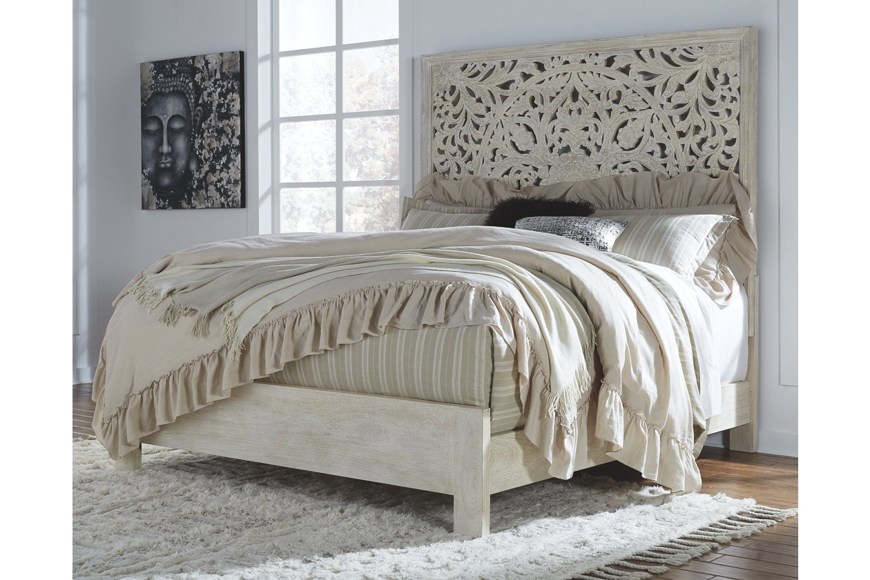 Bantori Queen Panel Bed Ashley Furniture Homestore White King Panel Bed Queen Panel Beds Panel Bed