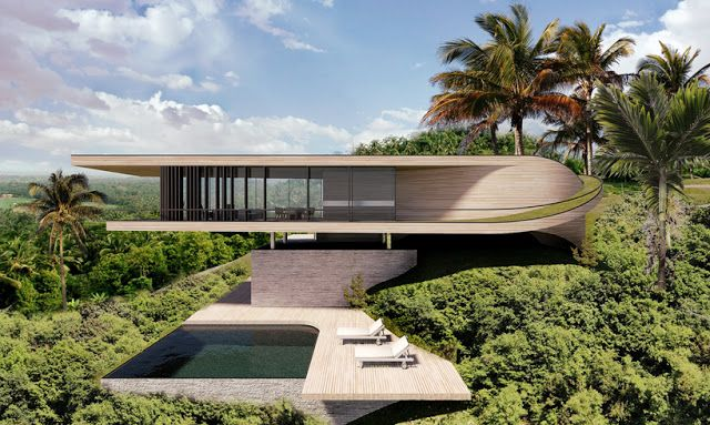 World of architecture modern contemporary house in bali also rh pinterest