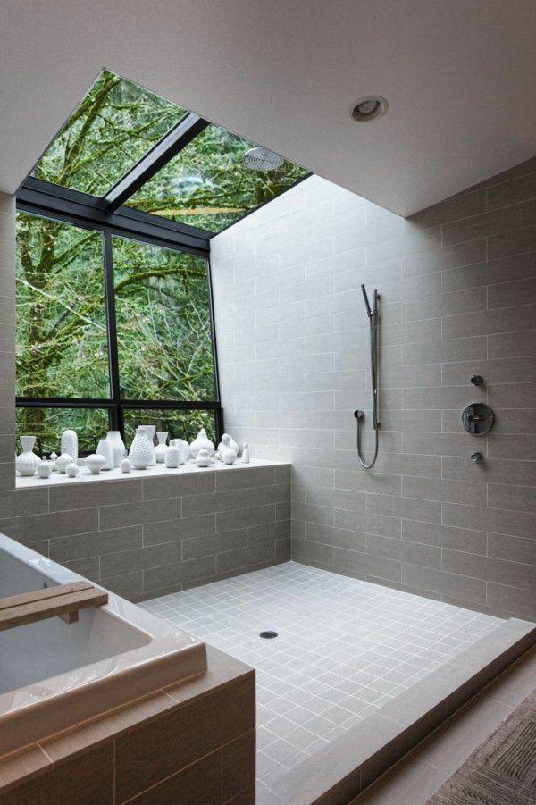 Salle de bains grise design unique de salle de bains et jolie décoration avec des