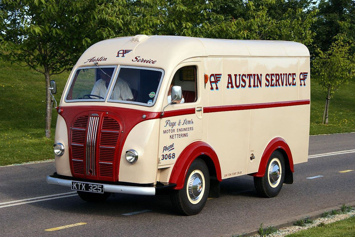 Austin Delivery Van | British Commercial vehicles (Lorry, truck ...