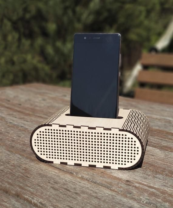 Sound amplifier Acoustic speaker Creative gift ideas Gifts for friends Customized gifts Speaker for iPhone Smartphone stands Natural wooden