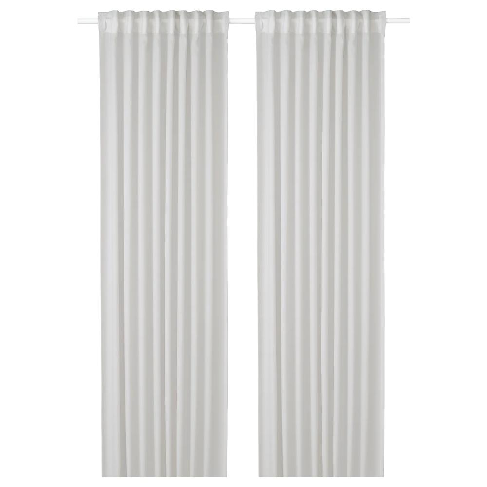 Gunrid Air Purifying Curtain 1 Pair Light Gray 57x98 In 2020