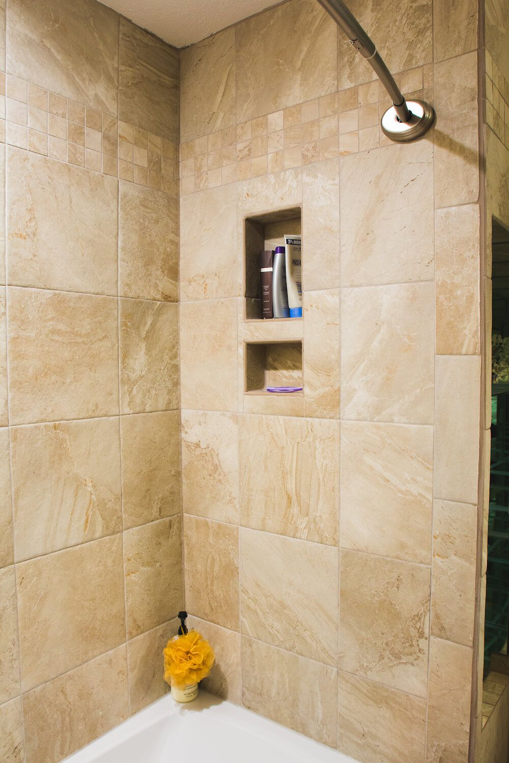 how to regrout a shower floor