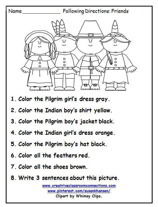 Image result for thanksgiving worksheets first grade free | 1st ...