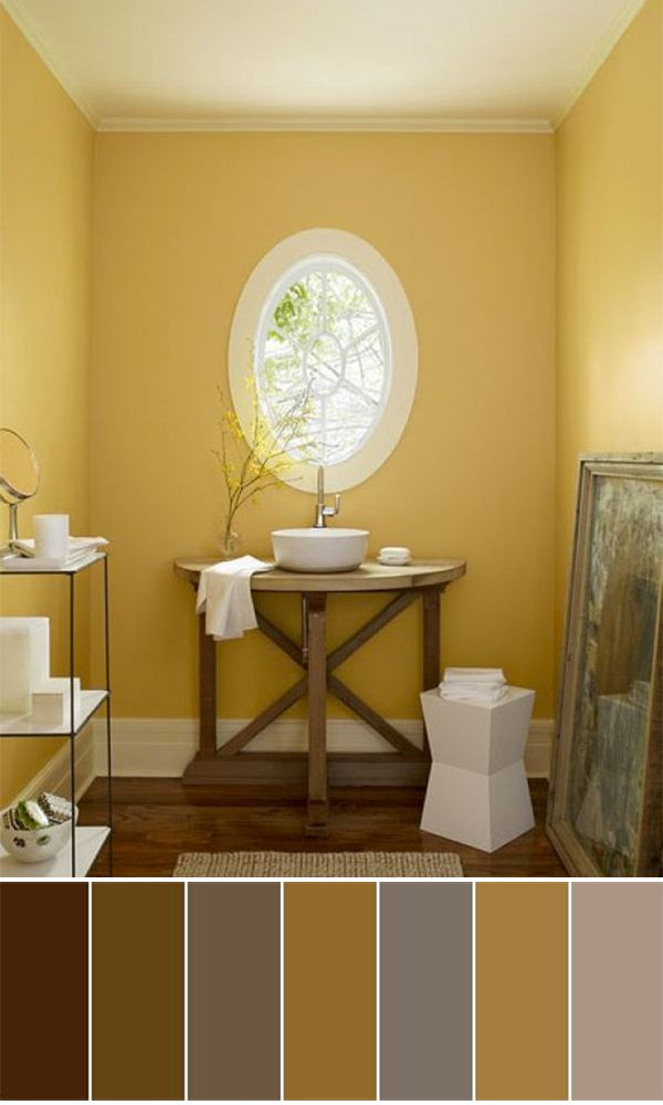111 World`s Best Bathroom Color Schemes For Your Home   Pinterest ...