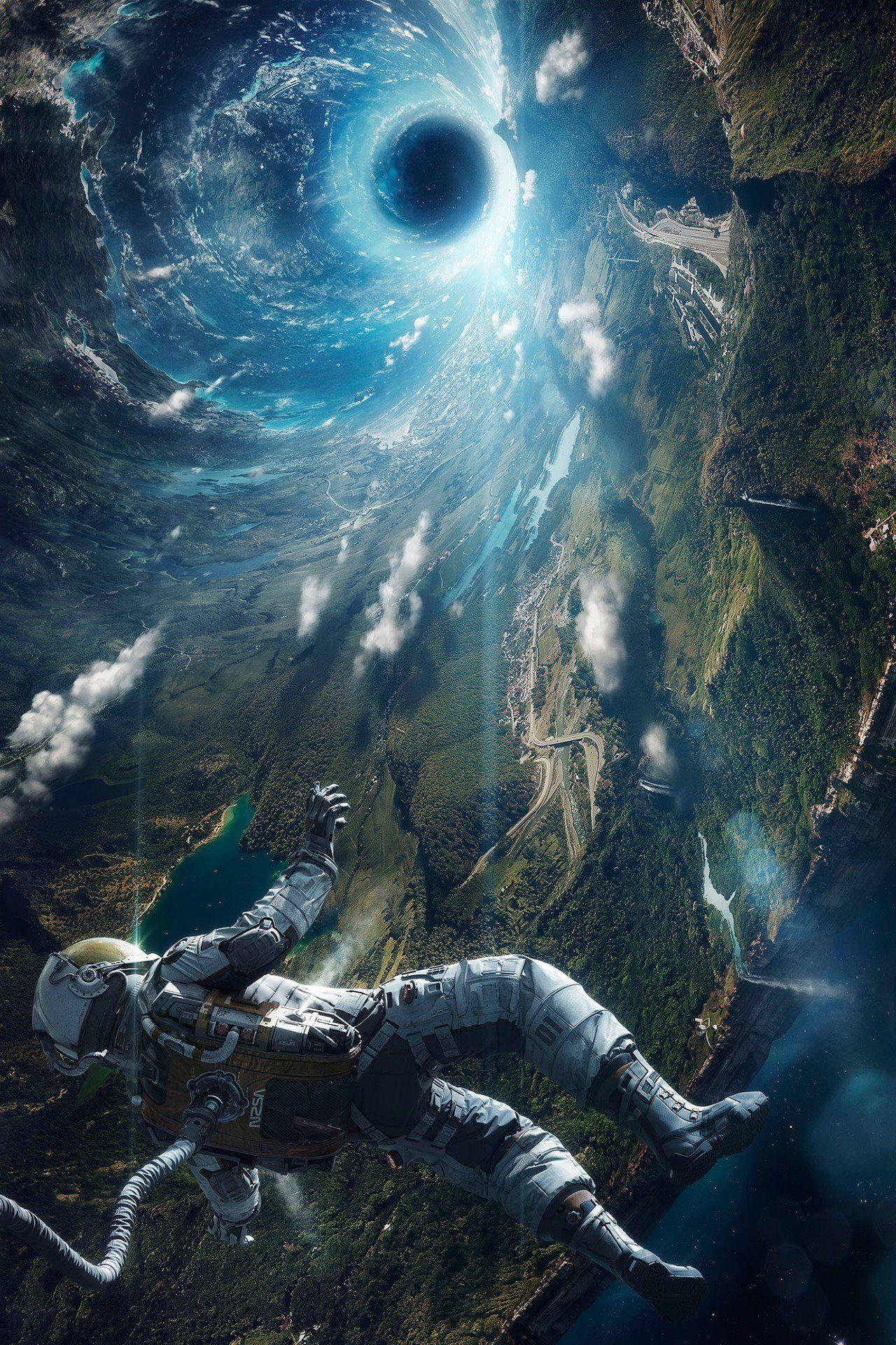 astronaut in space art - photo #12