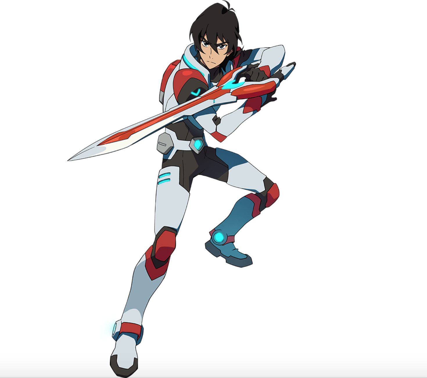 Keith the Red Paladin in action from Voltron Legendary Defender | Voltron legendary defender ...
