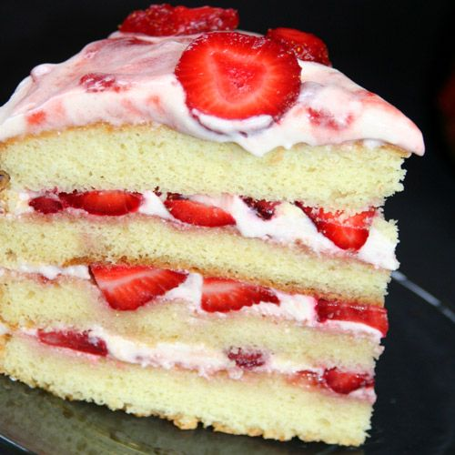 white wedding cake with strawberry filling recipe vanilla cake with strawberry frosting recipe 27425