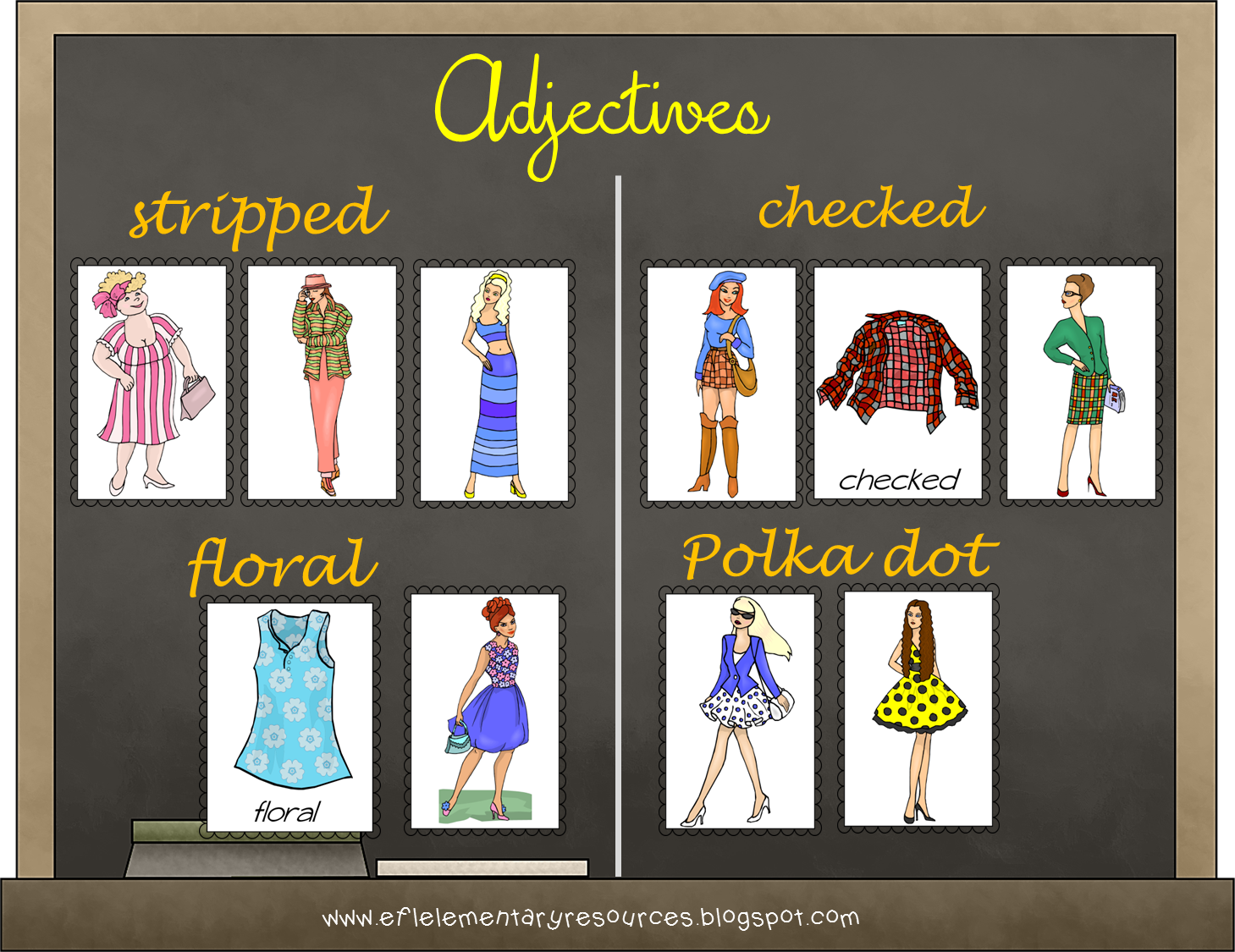 Clothes Resources For The Elementary Ell In
