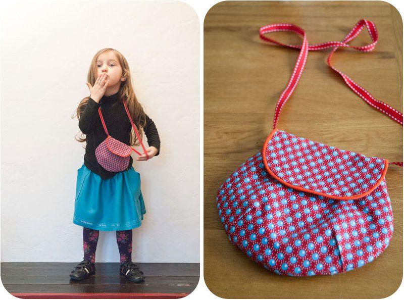 Souvent tuto couture sac petite fille 6 | Anniv' Capucine | Pinterest  AN12