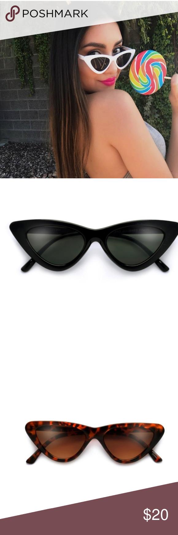 ce1332fb48b Last Slim Lolita Streamlined Cat Eye Sunglasses NWT! Hottest new designer  glasses the slim