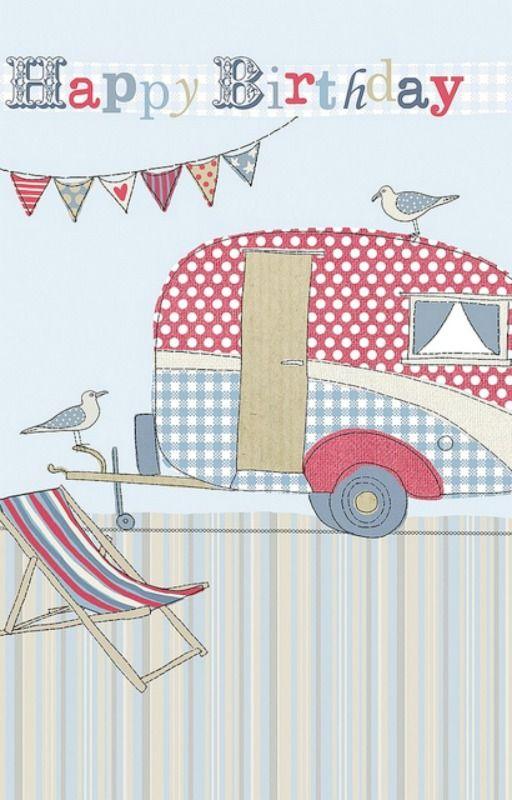 ️ vintage caravans on flickr  card making birthday