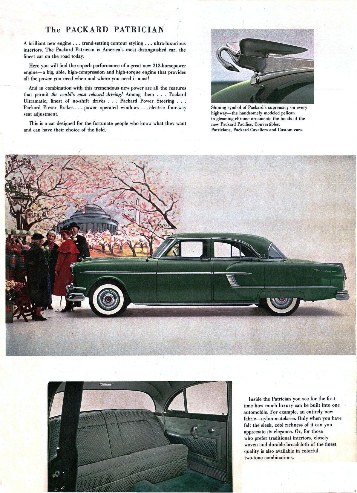 1954 Packard Patrician Four Door Sedan   Packard   Pinterest ...