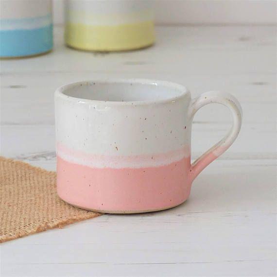 Ceramic mug, coffee mug, valentines mug, mugs, handmade mug, pottery mug, pink mug, tea mug, pottery, handmade gift, housewarming gift, mug #teamugs
