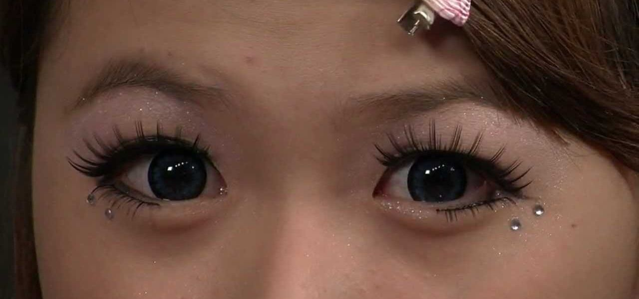 How To Create A Wide Eyed Japanese Dolly Eye Makeup Look Asian