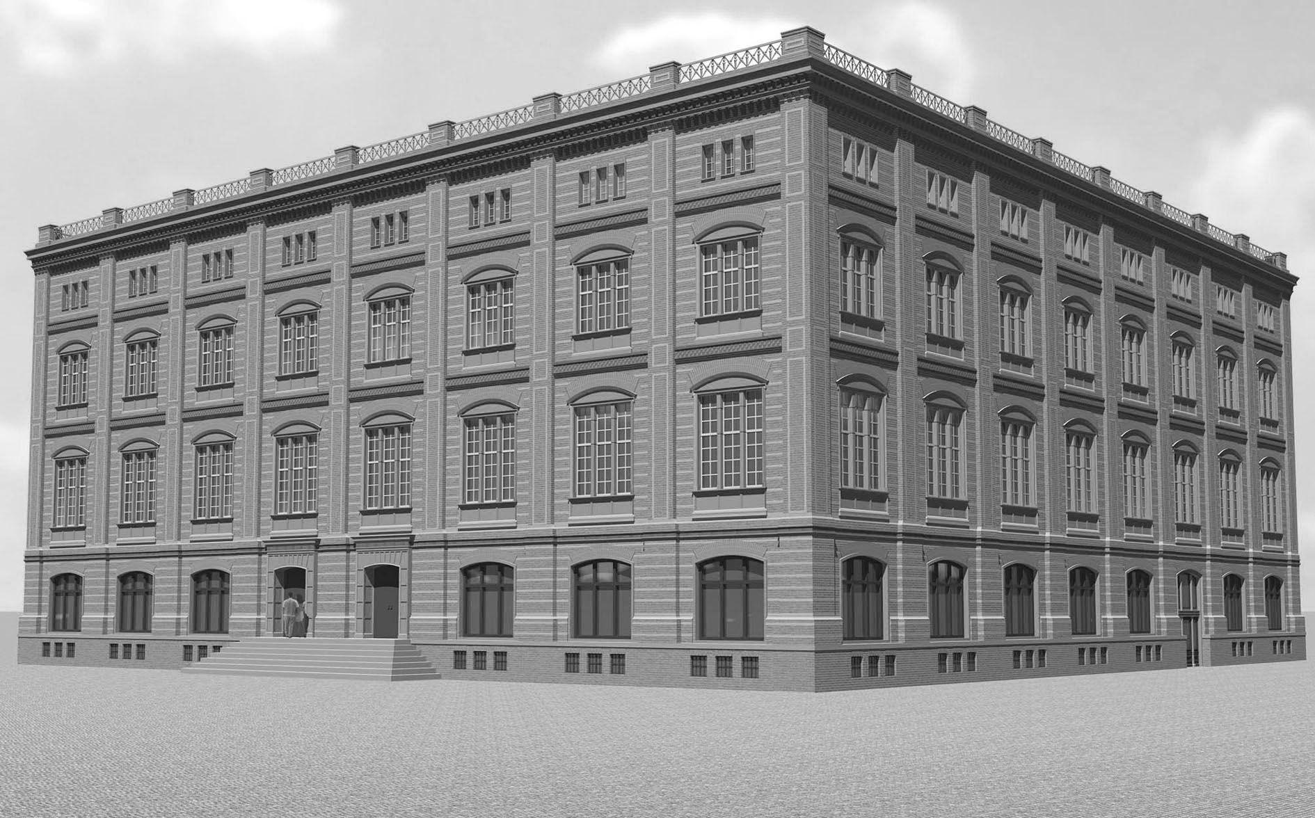 Karl Friedrich Schinkel Bauakademie Berlin 1831 6