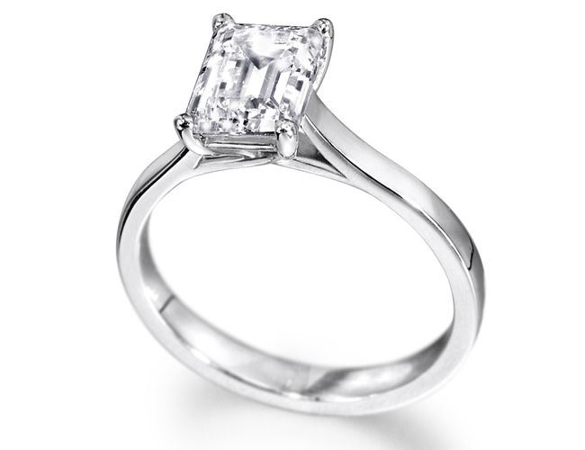 Single Stone Diamond Engagement Rings A Beautiful Display Of