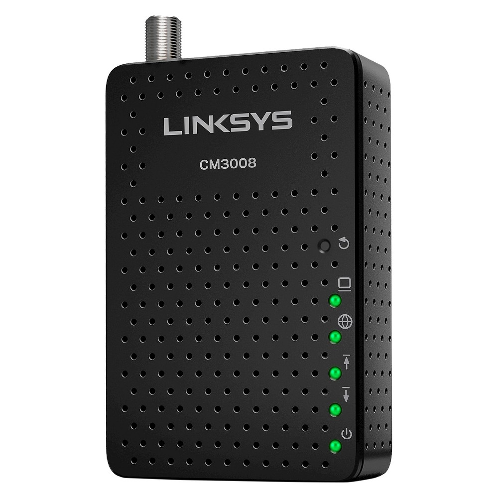 Linksys High Speed DOCSIS 3.0 Cable Modem Black (CM3008
