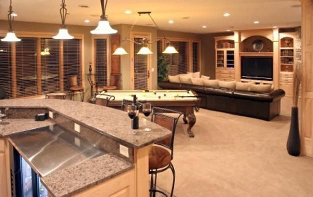 30 Amazing Inspiring Basement Remodeling Ideas