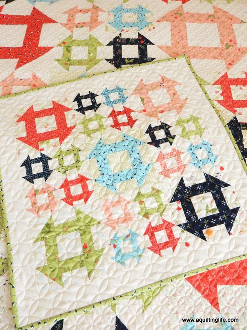 Lattice Mini Quilt PDF Pattern