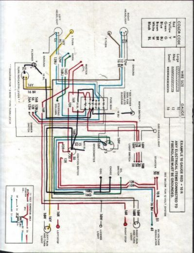 chinese dune buggy wiring diagram