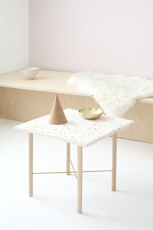 Diy Table Terrazzo Heju 1 Bricolage Table Comment Decorer Son Appartement Meuble A Fabriquer Soi Meme