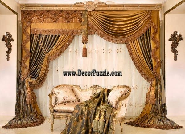 Curtain Designs For Living Room Impressive Luxury Curtains And Drapes In Classic Style 2015 For Royal Living Decorating Inspiration