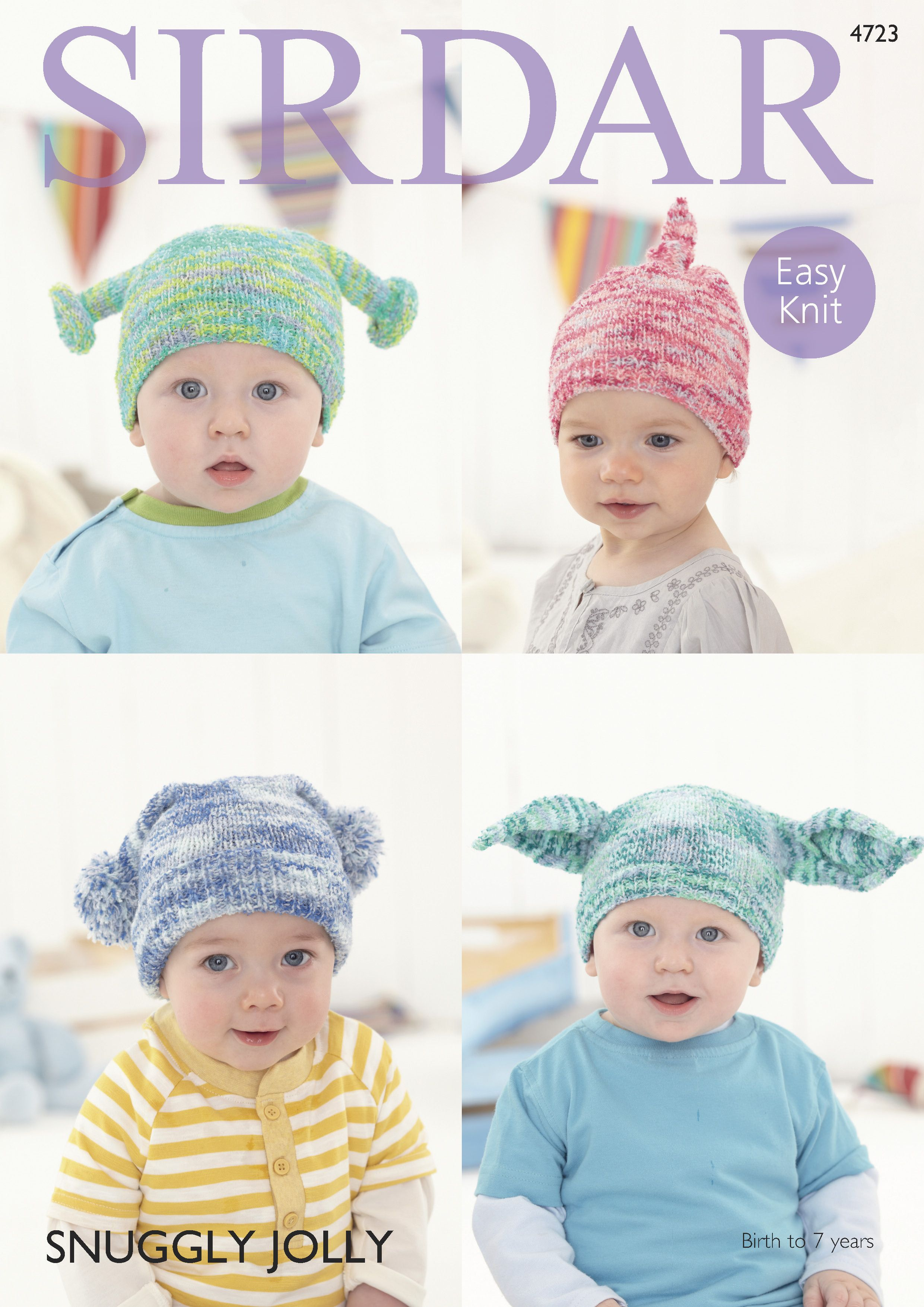 Baby and childs hats in sirdar snuggly jolly 4723 digital baby and childs hats in sirdar snuggly jolly 4723 digital version children hatsfree knittingknitting patternsbaby bankloansurffo Image collections
