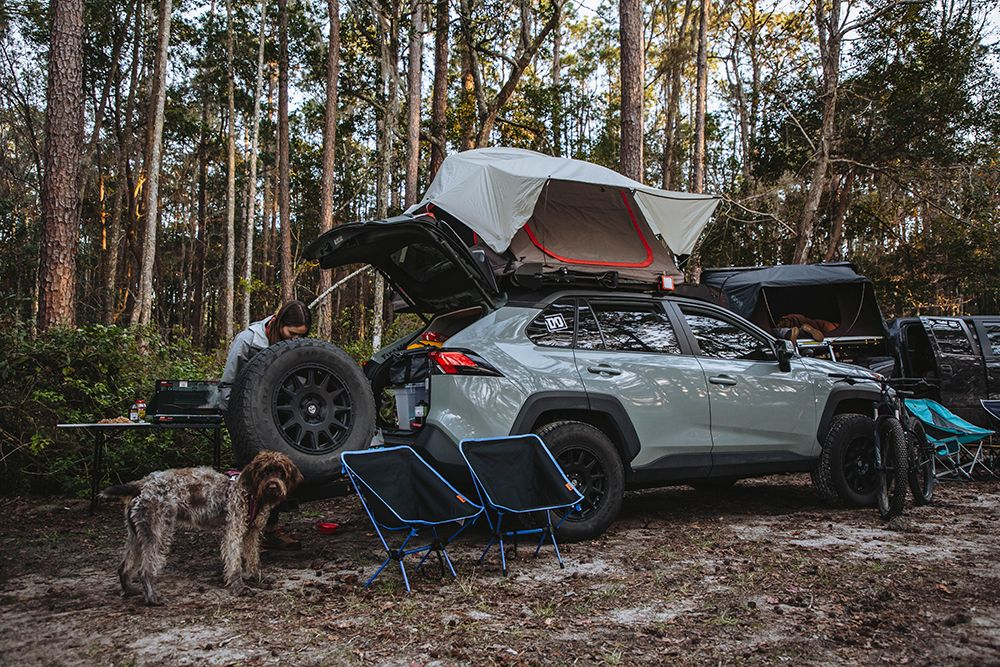 Lifted RAV4 Built to Go Places OverlandInspired Project