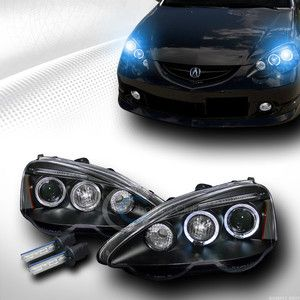 Install Acura RSX Aftermarket Headlights Acura RSX - Acura aftermarket parts