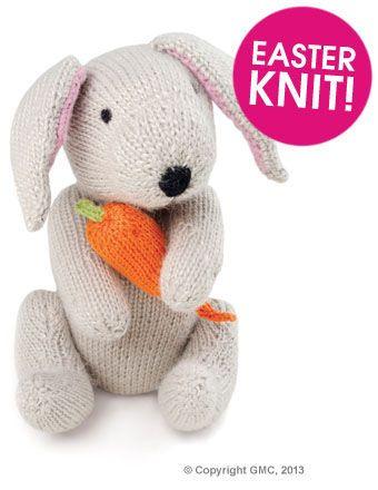 Rabbit Pattern Deramores Free Pattern Knitting Pinterest